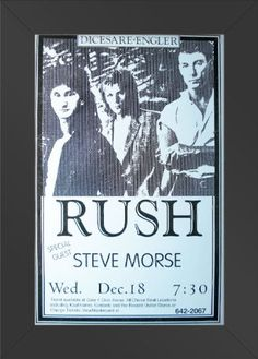 11x17 FRAMED CONCERT POSTER Rush w/ Steve Morse Innerwallz,http://www.amazon.com/dp/B008B9TXVE/ref=cm_sw_r_pi_dp_UdM.sb1JYRZ6F16F