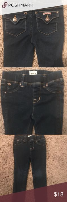 Hudson toddler girl jeans size 3 Hudson toddler girl jeans size 3. No holes or stains. A little faded on the knees but still great jeans! My daughter looked so fashionable in these jeans Hudson Jeans Bottoms Jeans