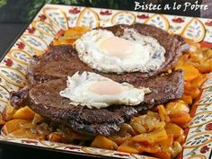 Tax Relief: Bistec a lo Pobre (Poor Man's Steak) | Sticky, Gooey, Creamy, Chewy | A Blog About Food with a Little Life Stirred In