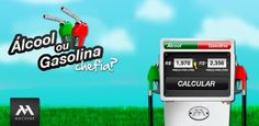Aplicativos para escolher entre gasolina ou álcool