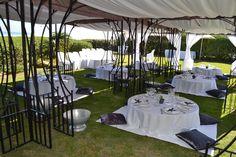 Charcoal & White Picnic Wedding by www.dialapicnic.co.za