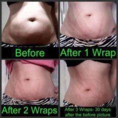 It works body wraps get yours at laurasslimwraps.com