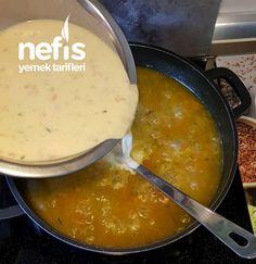 Sebzeli Yayla Çorbası – Nefis Yemek Tarifleri Iftar, Cheeseburger Chowder, Fondue, Soup, Ethnic Recipes, Instagram, Soups