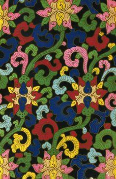 Ornement décoratif provenant des #collections du Victoria and Albert Museum, souvent abrégé « V&A », fondé en 1852 à Londres, dans le quartier de South Kensington. Il abrite l'une des #collections d'art #chinois les plus complètes et les plus importantes au monde #numelyo #color #museum #musée #décoration #motif #entrelacs #chromatique #couleur
