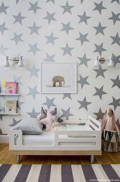Papel de parede no quarto das crianças faz toda diferença!