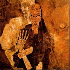"""""""Vidente"""" (la muerte y un hombre), 1911"""