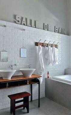 68 Ideas For Bath Room Tiles Brick Toilets Old Bathrooms, Bathroom Photos, Bathroom Kids, Laundry In Bathroom, Bathroom Renos, Dream Bathrooms, White Bathroom, Bathroom Renovations, Amazing Bathrooms
