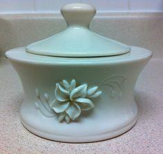Vintage Dorothy Okumoto Porcelain Sugar Bowl