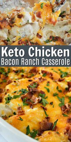 Low Carb Recipes, Diet Recipes, Cooking Recipes, Healthy Recipes, Chicken Recipes For Diabetics, Shrimp Recipes, Best Food Recipes, Smoothie Recipes, Recipes Using Bacon