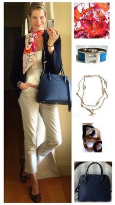 MaiTais Picture Book: Capsule wardrobe #19 - Style challenge navy blazer