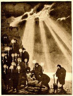 Sidney Sime - The Terrible Mud (1910) by Aeron Alfrey, via Flickr