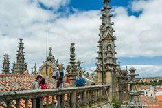 En los tejados de las catedrales de Plasencia