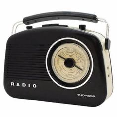 Thomson Retro AM/FM Radio will have you rocking thanks in part to the twin speakers, offer quality sound from favourite stations. Retro Radios, Black Models, Ads, Best Deals, House Styles, Target, Appliances, Accessories