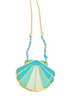 get seashell necklaces, bracelets and anklets to match your new swimsuits