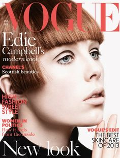 US Vogue latest magazine cover April 2013