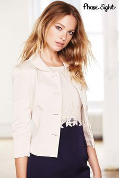 Buy Cream Phase Eight Peta Jacket from the Next UK online shop