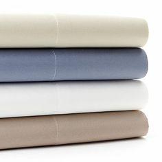 Croft & Barrow 525-Thread Count Sheet Set--Neutral sheets