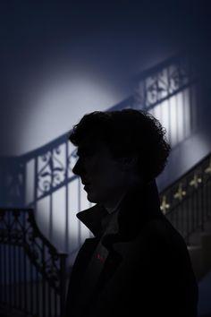 """It's #Sherlock Saturday! My favourite shot of Benedict"" -- by photographer Ian Derry"