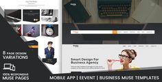 Imota-Creative Muse Landing Pages . This project is specially designed for Multipurpose use. It's suitable for all kind of Creative and Corporate sites and Landing pages, there are No Coding skills required to customize the