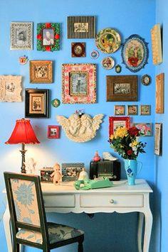 decoración de la pared: