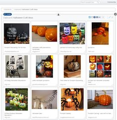 A view of my Halloween Craft Ideas Clipboard on Clipix.com -- Contains: #How to, #Halloween, #Decorations, #Pumpkin, #Carving, #Costume, #Costume Ideas, #Tutorial, #DIY, #Outdoor Decorations, #Crafts, #Fall, #kids, #clipix