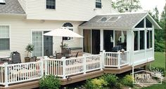 All Season Sunroom Addition Pictures & Ideas | Patio Enclosures