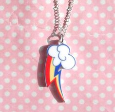 Rainbow Dash cutie mark My Little Pony Friendship Is by KawaiiKave, £6.00 (BOUGHT)