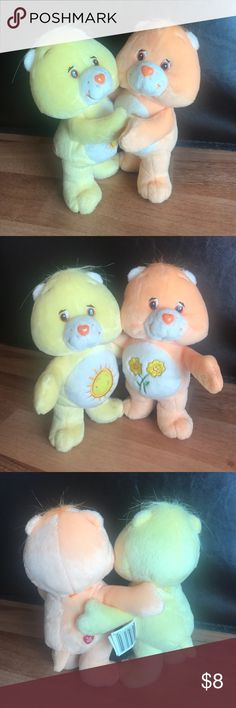 "Care Bears 7"" hugs Great condition Tieks Other"