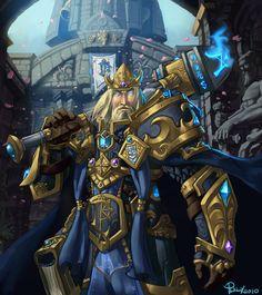 World of Warcraft Tribute- King Arthas Menethil by pulyx on deviantART