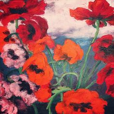 "ptk: "" Emil Nolde   Poppies   1942 """