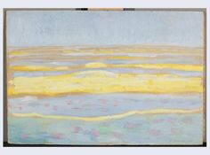 Piet Mondriaan, Zeegezicht, 1909. Gemeentemuseum Den Haag