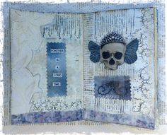 art journal inspiration ... Magpie's Nest Patty Szymkowicz Forever is a long time
