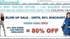 UP to 80% discount when you use PROMO CODE: DM30 on our website: www.dluxomode.com | Large Range of products such as Pantaloon Leggings Con Cremallera, Botón y Bolsillos, Plus Size Dresses and Leggings, beautiful Hoodies and Sweaters.