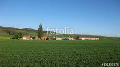 Paisajes rústicos, pueblos.  Paisajes veraniegos.   #fotolia #sold #photo #Photo #photography #design #photographer #Landscapes #summer #green #fields #roads #colorful