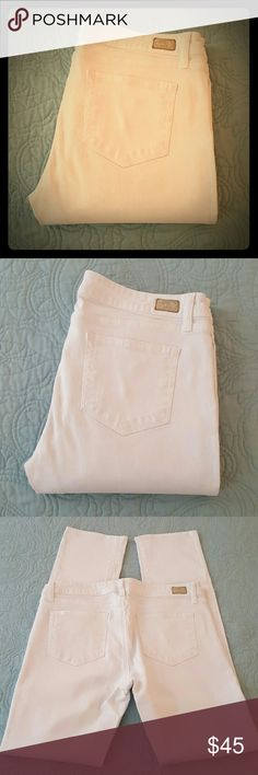 Paige Peg Straight Jeans In excellent, like new condition. Worn only a handful of times. Paige Jeans Jeans Straight Leg