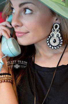Catwalk Chic Black Fancy Earrings Crazy Train Clothing is trendy, affordable, super cute & now available at Western Soul! Get your favorite style today! #crazytrainclothing #crazytrain #crazytrainclothes #westernclothing #westernclothingbrand #ladieswesternfashion #ladieswesternfashion #womenswesternwear #womenswesternshirt #womenswesternfashion #westernstyle #westernfashion #crazytraintops #crazytrainshirts #crazytraindusters #crazytrainpants #crazytraincaps #pumpkinpatch