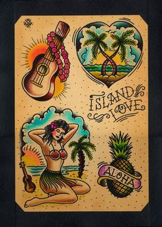 traditional tattoo flash love - Google Search