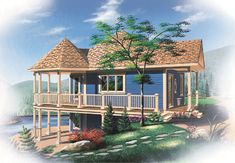 "Monster House Plans has a wide variety of Beach house plans. It belongs to Plan 5-735. In this plan there are 1:Bedrooms Full Baths: 1 Levels/Stories:  1 Total Sq. Ft.: 840 Main floor: 840 Basement: 840 Width: 33' 0"" Depth: 31' 0"" Height: 29' 9"" Walls: 2""x6"" Ceiling Height (Main): 9' for more visit : http://www.monsterhouseplans.com/beach-style-house-plans-840-square-foot-home-1-story-1-bedroom-and-1-bath-0-garage-stalls-by-monster-house-plans-plan5-735.html"
