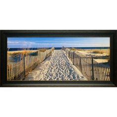 Found it at Wayfair - 'Pathway to the Beach' by Joseph Sohm Framed Photographic…