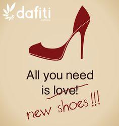Nos declaramos adictos a los zapatos.... ¡Nada que hacer! <3