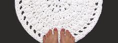 Alfombra de Trapillo para Baño en Crochet - Tutorial en Castellano