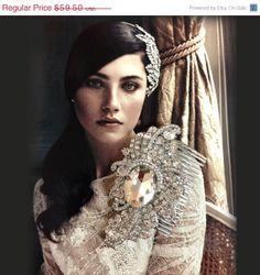 Wedding hair accessory Bridal hair comb bridal hair by GlamDuchess, $38.68