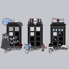 doctors fantastic-allonsy-geronimo #doctorwho