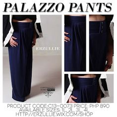 Erzullie Fierce Plus Size Fashion Philippines: PLUS SIZE FASHION: PALAZZO PANTS