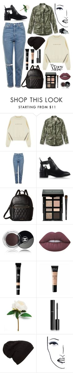 """Style of the day #8"" by dare2be-differen ❤ liked on Polyvore featuring L.L.Bean, Topshop, KG Kurt Geiger, Vera Bradley, Bobbi Brown Cosmetics, Chanel, Lime Crime, MAKE UP FOR EVER, Black Magic Lashes and Gorgeous Cosmetics"