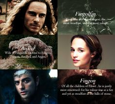 """Famous Noldor: The House of Fingolfin 1/2 """"Finwë was King of the Noldor. The…"""