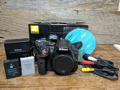 Nikon D5300 24.2MP Digital SLR Camera  Black (Body Only)  3409 Shutter Count!