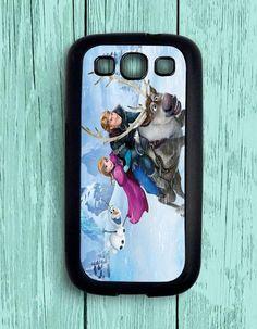 Anna Princess Cartoon Frozen Samsung Galaxy S3 Case