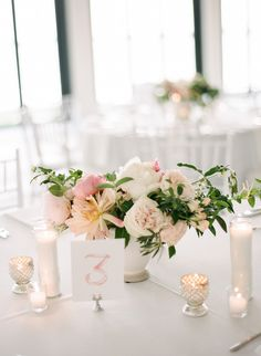Photography: Rebecca Yale Photography   rebeccayalephotography.com Floral Design: Anchor & Grace   anchorandgrace.com Venue: Belle Mer   longwoodevents.com/Venues/belle-mer.shtml   View more: http://stylemepretty.com/vault/gallery/37194