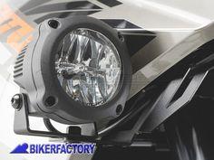 Faretti moto - fari supplementari fendinebbia anabbaglianti a LED - SW-Motech HAWK LED FOG LIGHT corpo in alluminio con cablaggio completo per KTM 1290 Super Adventure '15 in poi